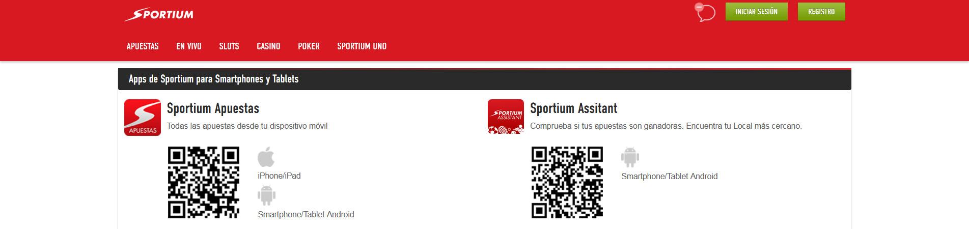 APP Sportium