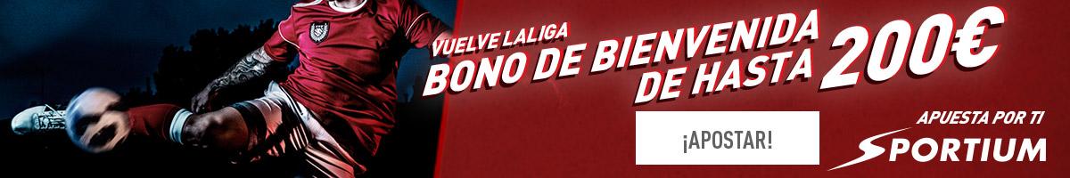 Bono Bienvenida Sportium