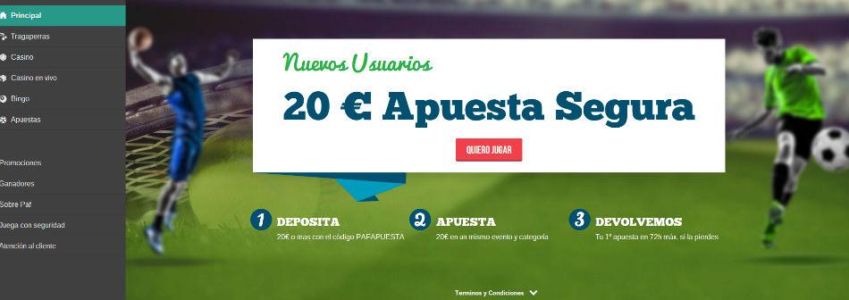 paf homepage