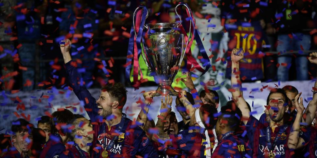 FC Barcelona campeon Champions League