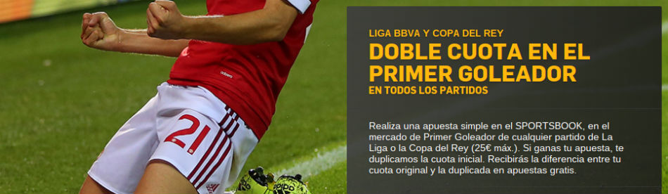 betfair doble cuota liga