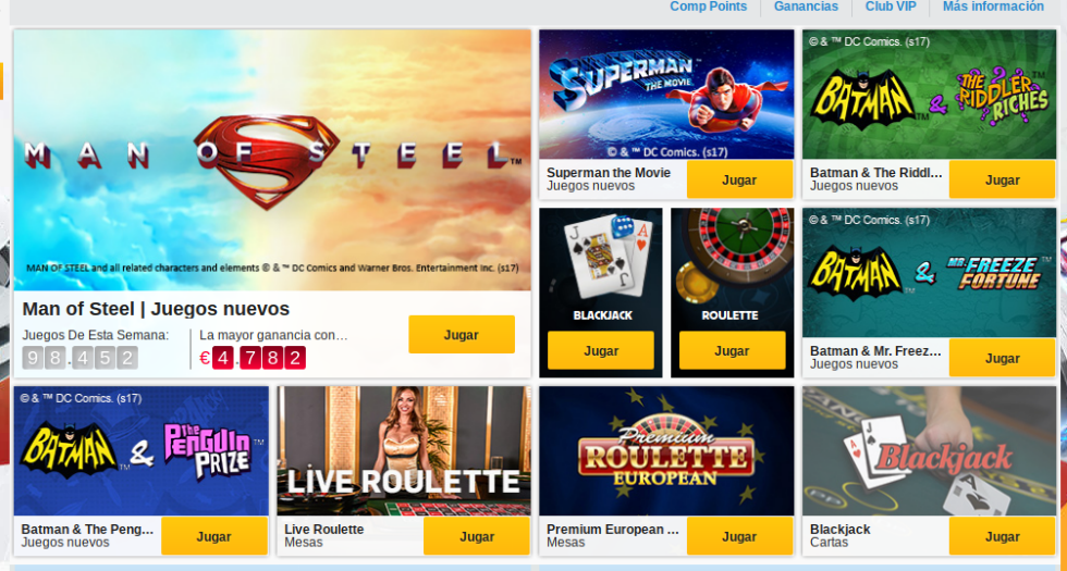 Betfair Casino Info 2