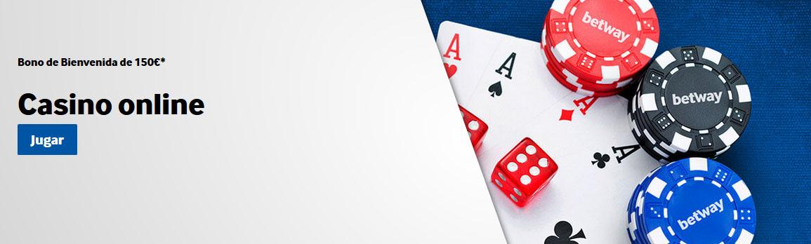 Bono de Bienvenida betway casino