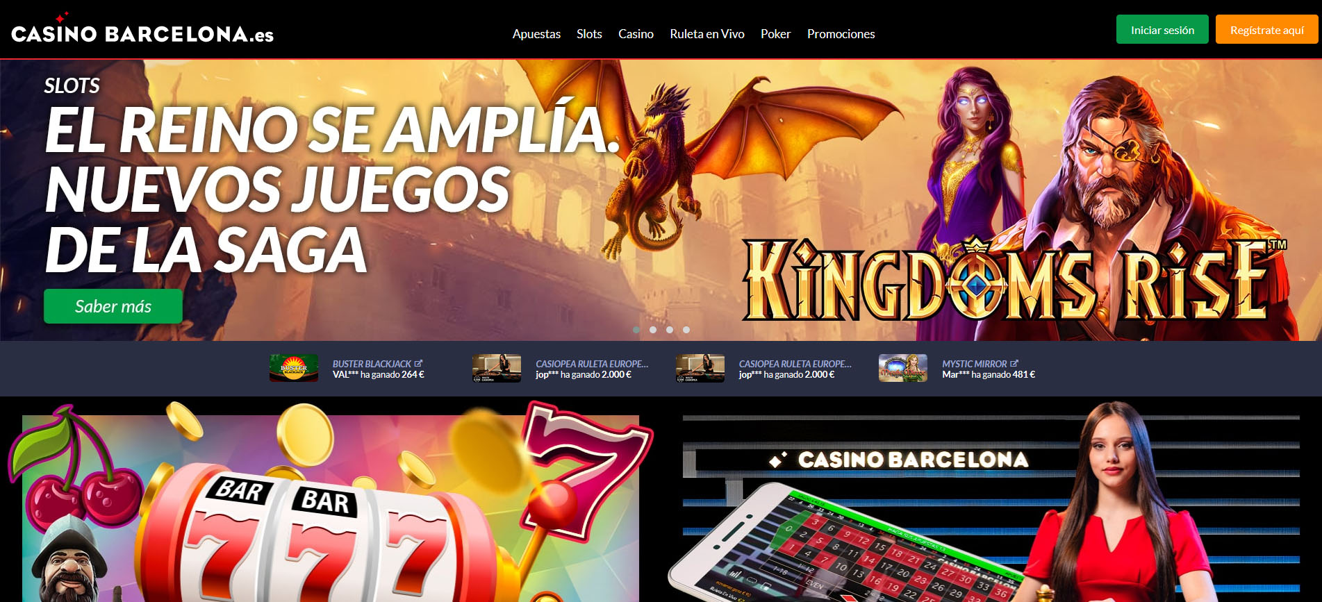 Casino Barcelona online HOME