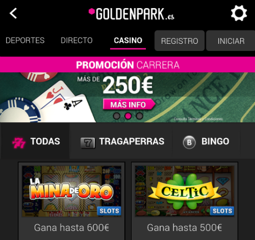 goldenpark_casino_movil