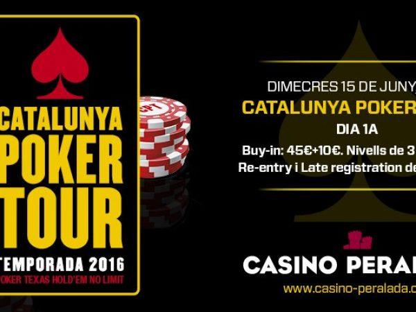 Catalunya Poker Tour, del 15 al 19 de junio en tres casinos