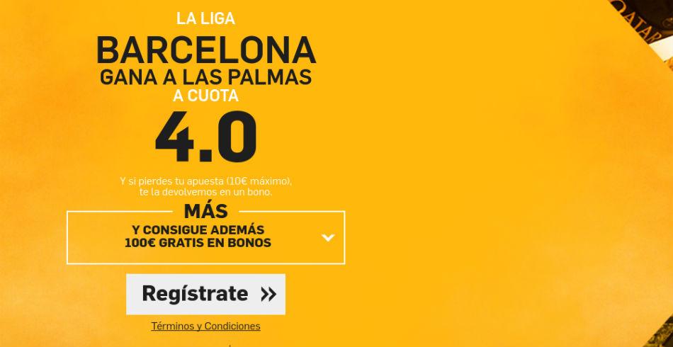 Barcelona v Las Plmas_Betfair