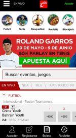 Caliente Sports App