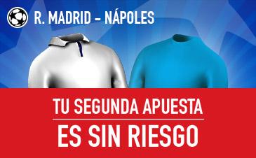 Real Madrid-Nápoles Sportium