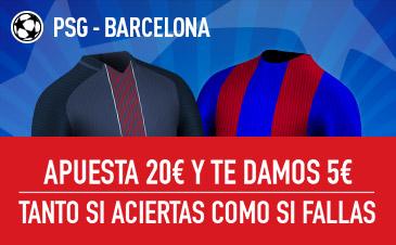 PSG-Barcelona Sportium