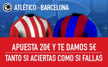 Atlético v Barcelona Sportium