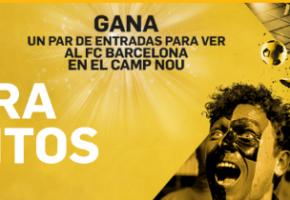 Betfair Exchange Gana Entradas Barcelona