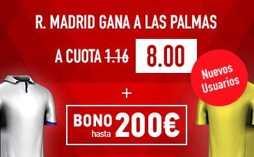 Las Palmas v Real Madrid Sportium