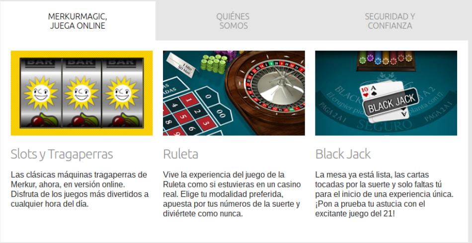 Merkurmagic Casino Juegos