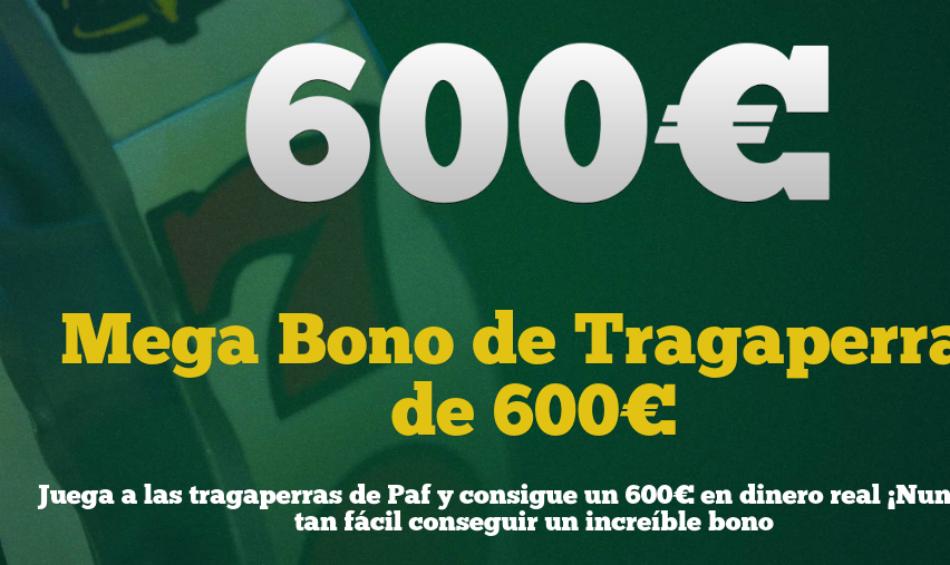 bono tragaperras Paf Casino