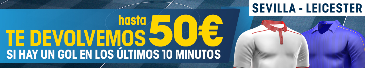 sevilla v leicester William Hill