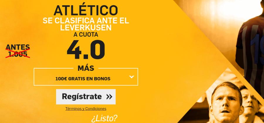 Atlético v Bayer Leverkusen Betfair