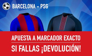Barcelona-PSG Sportium