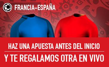 Francia v España Sportium