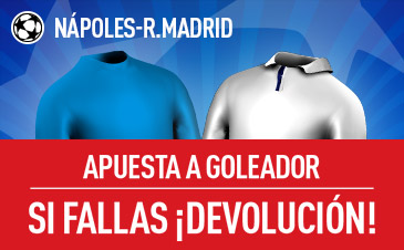 Nápoles-Real Madrid Sportium
