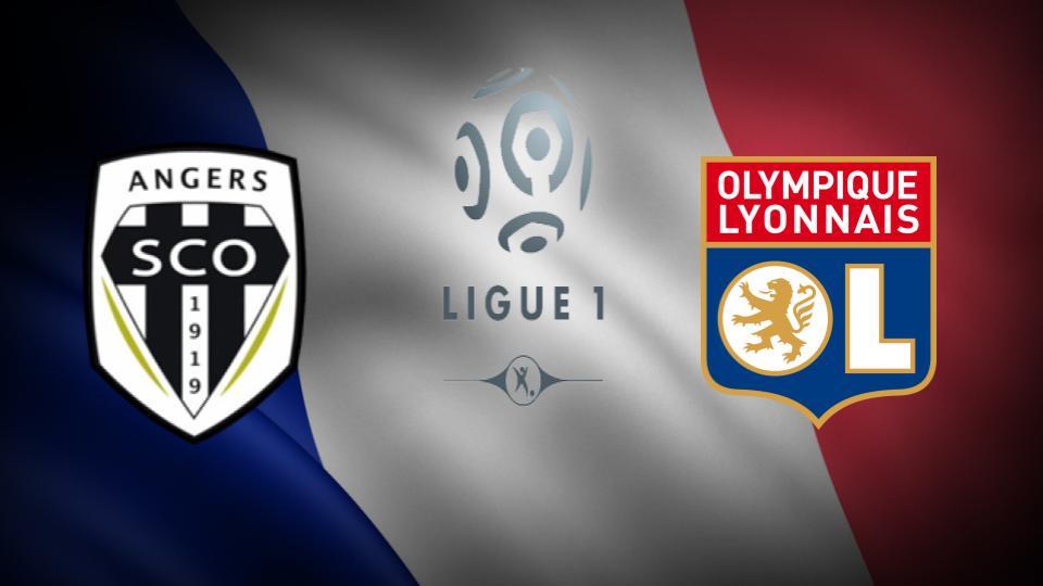 Lyon 2-1 Angers Match Highlight