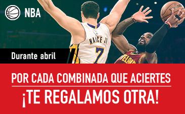 Apuestas NBA Sportium Abril