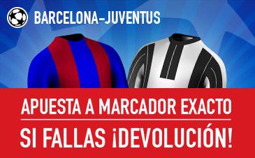 Barcelona v Juventus Sportium