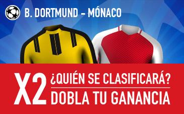 Borussia Dortmund v Mónaco Sportium
