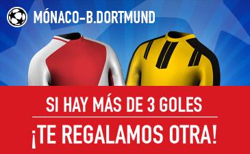 Cuotas Mónaco v Borussia Dortmund Sportium