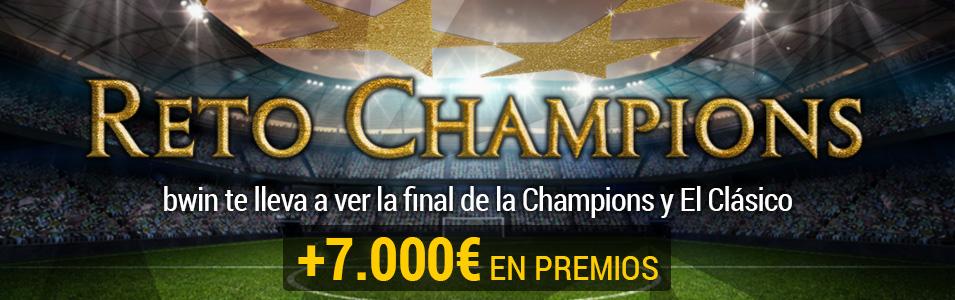 Entradas Champions Bwin