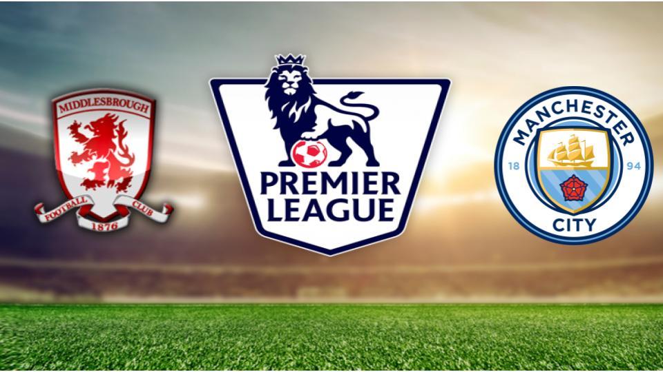 Middlesbrough v Manchester City