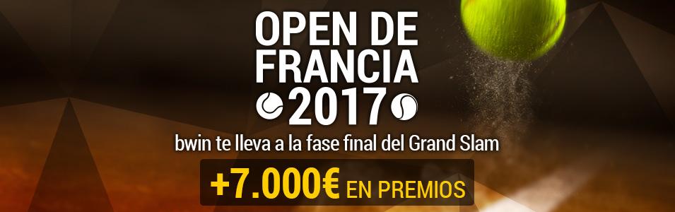 Open de Francia 2017 Bwin