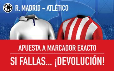 Real Madrid-Atlético Madrid Sportium
