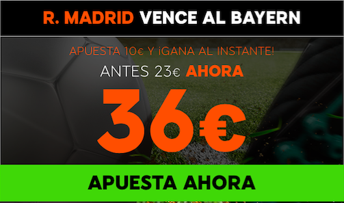 real madrid vs bayern apuestas