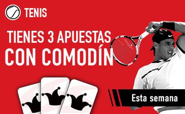 Sportium Tenis Comodín Conde Godo