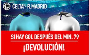 Celta v Real Madrid oferta
