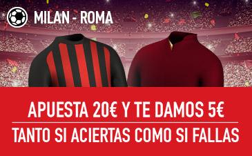 Milan v Roma Sportium