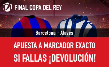 Oferta Final Copa del Rey Sportium
