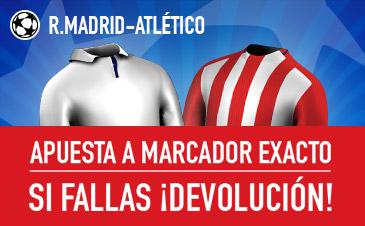 Real Madrid v Atlético Madrid Sportium Champions