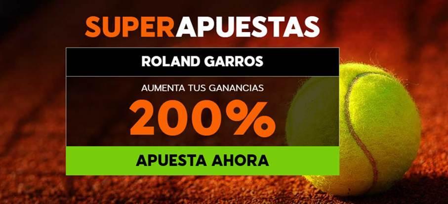 Roland Garros 2017 Bono 888sport