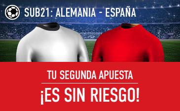 Alemania sub'21 v España sub'21