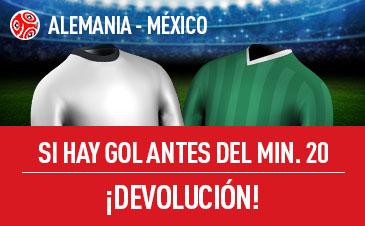 Alemania v México Sportium