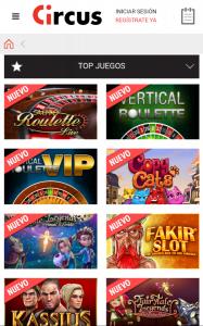 Circus app 2