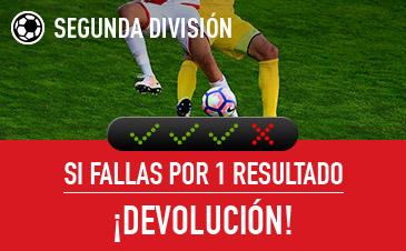 Combinada Segunda División Sportium