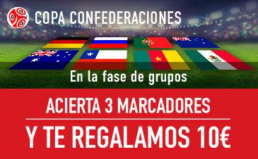 Copa Confederaciones 2017 Sportium