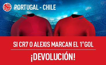 Portugal v Chile Sportium