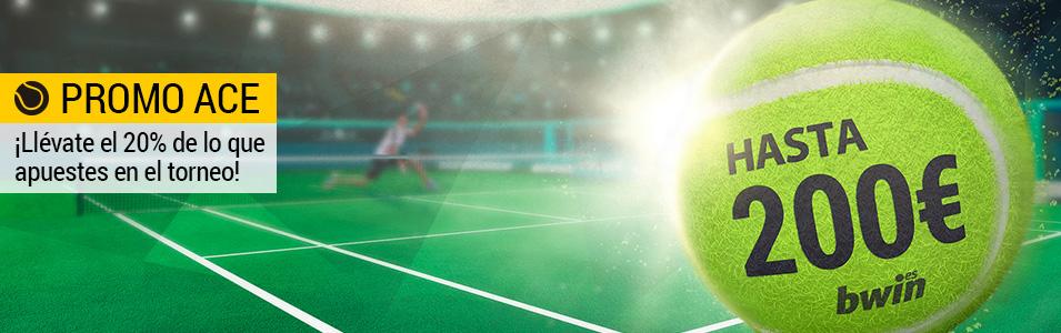 Promo ACE Wimbledon Bwin