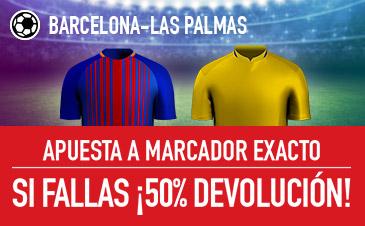 Barcelona v Las Palmas Sportium