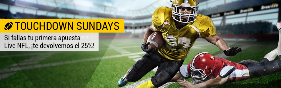 Bwin NFL domingo
