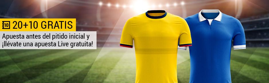 Colombia v Brasil Bwin